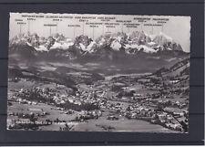 Karte Panorama Kitzbühel mit Bahnpoststempel Salzburg - Innsbruck gelaufen 1958