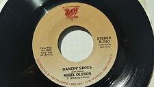 NIGEL OLSSON - Dancin' Shoes / Living In A Fantasy 1978 AOR Power Pop Elton John
