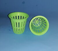 "2""  NET CUP POTS 6 /10 / 25 / 50 / 100  FOR HYDROPONIC GROW BOX SYSTEM and CLONE"
