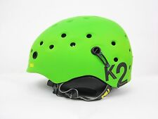 K2 ROUTE SKI & OUTDOOR HELMET  COLOR: GREEN  SIZE LARGE/ X LARGE  BRAND NEW!!!