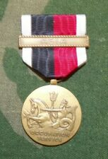 Original Ww2 United States Navy Occupation Medal w/Asia bar - Full sized