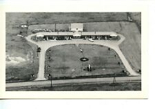 Aerial View Motel-Ellwood City-Pennsylvania-Vintage B/W Advertising Postcard