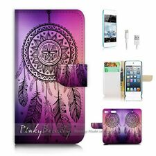 ( For iPod 6 / itouch 6 ) Flip Case Cover! P0420 Dream Catcher