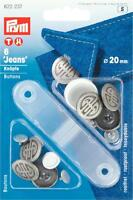 4 Patentknöpfe 13 Sterne spitzer Stift 16 mm brüniert 331114