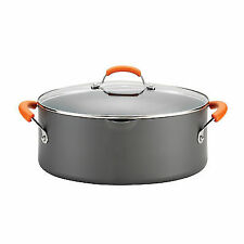 Rachael Ray Hard Anodized II Nonstick Dishwasher Safe 8-quart Covered Oval Pasta