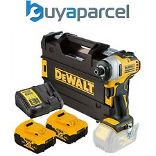 Dewalt DCF809P2 18v XR Sin Escobillas Controlador De Impacto-Cargador de baterías 2x5.0ah TSTAK