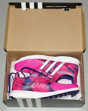 ADIDAS Girls 5 Sneakers NEW Hyperfast 2.0 Running Shoes & Box NIB Pink Purple