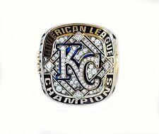 Genuine 2014 Kansas City Royals Gold & Diamond American League Championship Ring