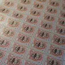 FEUILLE SHEET TIMBRE ILE DE SAINT BARTHÉLEMY N°1985 x50 1978 NEUF ** LUXE MNH