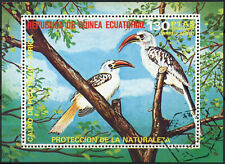 Equatorial Guinea 1973 Birds Cto Used M/S #E4079
