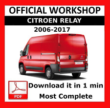 >> OFFICIAL WORKSHOP Manual Service Repair Citroen Relay 2006 - 2017