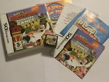 NINTENDO DS DSL DSi xl BACK AT THE BARNYARD GAMES +BOX & INSTRUCTIONS COMPLETE