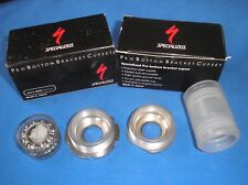 NOS SPECIALIZED PRO ITALIAN THREADED BOTTOM BRACKET CUPS 36 X 24 TPI BY SUGINO