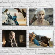 Emilia Clarke Poster A4 NEW Daenerys Targaryen Game Of Thrones Mother Of Dragons