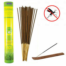 30 x Citronella Incense Sticks Mosquito Fly Insect Repeller Fragranced Candles