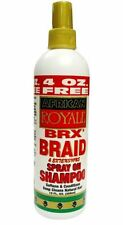 African Royale BRX Braid Spray on Shampoo, 12 oz (Pack of 9)