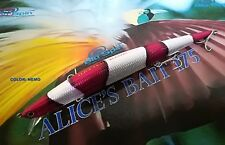 "NEW LONG JERK ""ALICE'S BAIT"" MINNOW 175 SLIM FLOATING - COLOR: NEMO"
