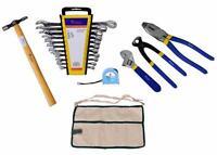 Kosma 16 Piece DIY Mechanics Tool Kit | Electricians Tools Kit | Free 4 Pockets