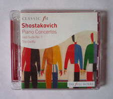 CRISTINA ORTIZ - SHOSTAKOVICH PIANO CONCERTOS 2008 CD ALBUM - GOOD CONDITION