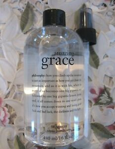 PHILOSOPHY~AMAZING GRACE BODY SPRITZ~16 oz w/ Mister Pump Super-Size *NEW*