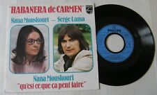 NANA MOUSKOURI  SERGE LAMA (SP 45T) HABANERA DE CARMEN