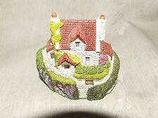 Vintage c1990 Scottish Mini Resin Heatherlea Cottage Ian M Fraser Creations