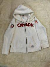 Womens Canada Hudsons Bay Hoodie Size 2XL White