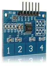 4 Channel Touch Sensor 4 Buttons Arduino ATMega AVR UK