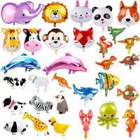 Jungle Dinosaur Cartoon Animals Balloons Happy Birthday Baby Shower Party Decor