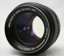 Konica Hexanon AR 1:1.4 57mm Lens *Good* #BZ14c