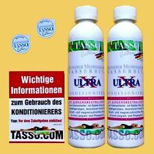 2 Tasso Ultra X Wasserbett Konditionierer Kondi 70,83 ?/Liter DHL-BLITZ-Versand