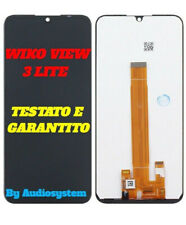 DISPLAY LCD TOUCH SCREEN WIKO per VIEW 3 LITE SCHERMO NERO VETRO W-V800 NUOVO