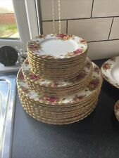 More details for royal albert old country roses set