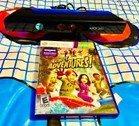 Xbox 360 Kinect Sensor Bar with Kinect Adventures Game