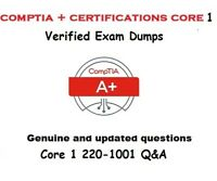 CompTIA A+ Certification : Core 1 220-1001 real Exam dumps questions and answers