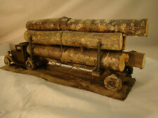 Old Ford Logging Truck - custom weathered - lot 4     O SCALE   -  ON30