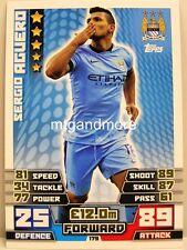 Match Attax 2014/15 Premier League - #179 Sergio Aguero - Manchester City