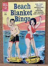 VINTAGE DELL MOVIE COMICS BEACH BLANKET BINGO 1965 1ST SERIES FUNICELLO AVALON!