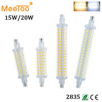 R7S 5W 10W 15W 20W LED Flood Light Bulb 2835 SMD Cool /Warm White Halogen Lamps
