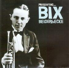 Bix Beiderbecke - Presenting Bix Beiderbecke (CD 2004) Remastered; 20 Tracks