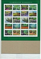 SEALED American Gardens. 2020 Sheet of 20 USPS Forever Postage Stamps.