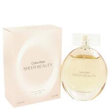 Calvin Klein Sheer Beauty Perfume 3.4oz Eau De Toilette MSRP $80 NIB