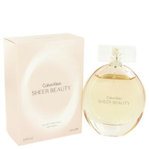 Calvin Klein Sheer Beauty Perfume 3.4oz Eau De Toilette MSRP $80 NIB