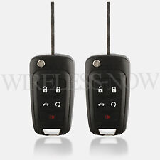 2 Car Flip Key Fob Keyless Entry Remote For 2010 2011 2012 2013 GMC Terrain