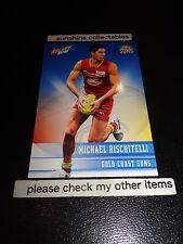 2012 SELECT AFL CHAMPIONS BASE CARD NO.94 MICHAEL RISCHITELLI GOLD COAST