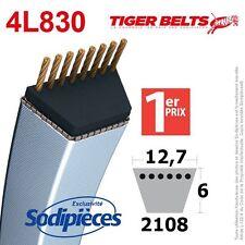 Courroie tondeuse 4L830 Tiger Belts. 12,7 mm x 2108 m