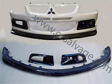 MITSUBISHI EVO 8 BODY KIT 03 > 06 FRONT BUMPER LIP & DUCTS VENTS BIRMINGHAM