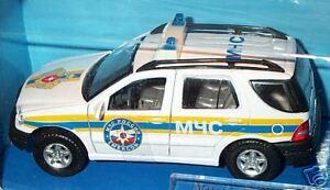 wonderful Russian policecar MERCEDES ML320 2003