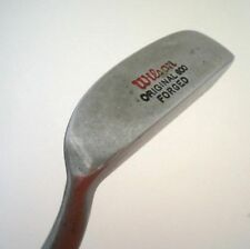 Vintage red WILSON 600 Forged Putter ALL ORIGINAL blade golf club flat stick
