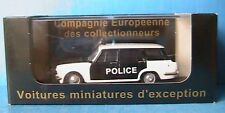 SIMCA 1500 BREAK POLICE PIE 1964 ELIGOR V4268 1/43 POLITIE
